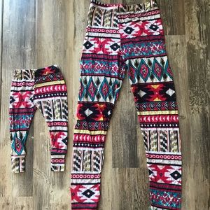 Other - Matching Mommy M/L & Baby 3-12 month Leggings